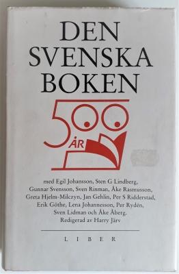 Den Svenska Boken. 500 ar [år].
