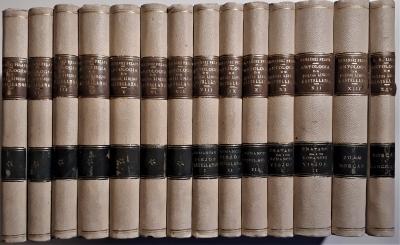 Antología de poetas líricos castellanos desde la formacion del idioma hasta nuestros dias. Biblioteca Clasica Tomo, 14 volúmenes