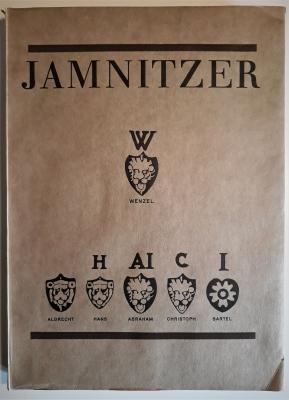 Jamnitzer. Alle erhaltenen Goldschmiedearbeiten, verlorene Werke, Handzeichnungen. 86 Tafeln.