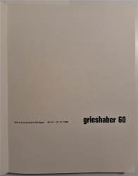 Grieshaber, Die Druckgraphik, Werkverzeichnis Band 2, 1966-1981
