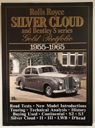Rolls Royce. Silver Cloud and Bentley S series. Gold Portfolio 1955 - 1965