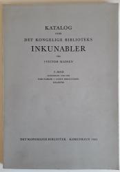 Katalog over det Kongelige Biblioteks Inkunabler. 3. Bind, Accession 1938-1962. Inkunabler I. Andere Biblioteker, Registre.
