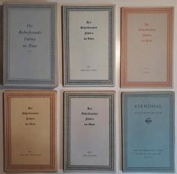 Des Bücherfreundes Fahrten ins Blaue. 36 (von 38) Bände.