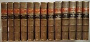 Obras de Lope de Vega. Publicadas por la Real Academia Espanola (Nuevo Edicion). Obras Dramaticas. En 13 volúmenes