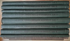 Hebräisch Orientalischer Melodienschatz. Zum ersten Male gesammelt, erläutert und herausgegeben von A. Z. Idelsohn. 10 Bände (alles)