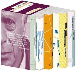 Sechs große Romane: Die Trambahn, Der Palast, Geschichte, Das Gras, Der Wind, Die Straße in Flandern.