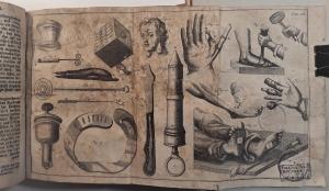Chirurgie, in welcher alles, was zur Wundarzney gehöret, Nach der neuesten und besten Art, gründlich abgehandelt, und in acht und dreyßig Kupfertafeln die neuerfundene und dienlichste Instrumente,...
